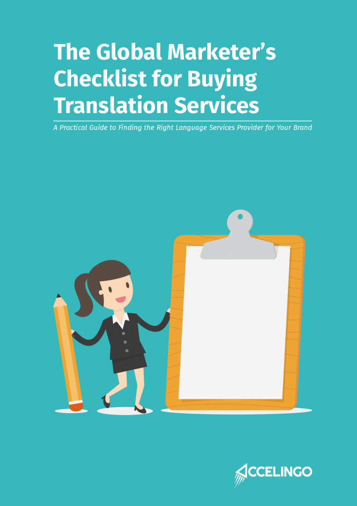 The Global Marketer's Checklist for Buying Translation Services